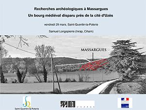Recherches archéologiques à Massargues